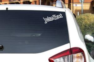 "Judas Priest - Logo 6x3"" Vinyl Cut Sticker"