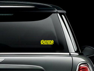 "Kreator - Logo 5x2"" Vinyl Cut Sticker"