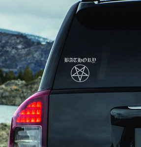 "Bathory_Logo 7x6"" Vinyl Cut Sticker"