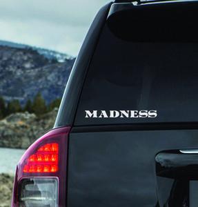 "Madness - Logo 7x2"" Vinyl Cut Sticker"