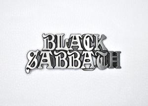 "Black Sabbath Logo 4"" Belt Buckle"