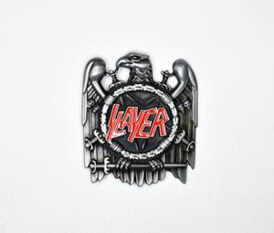 Slayer Logo Belt Buckle