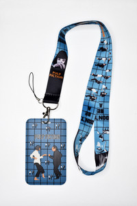 Pulp Fiction Lanyard With Id Holder