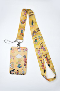 Hey Arnold Lanyard With Id Holder