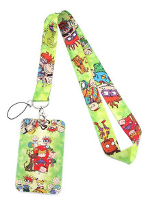 Rugrats Lanyard With Id Holder