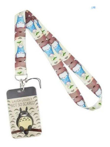 My Neighbor Totoro - Totoro And Friends Lanyard With Id Holder