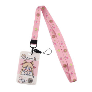 Sailor Moon - Serena Lovely Lanyard With Id Holder