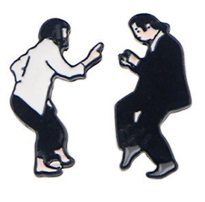 Pulp Fiction - Mia and Vincent Earrings