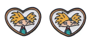 Hey Arnold Earrings