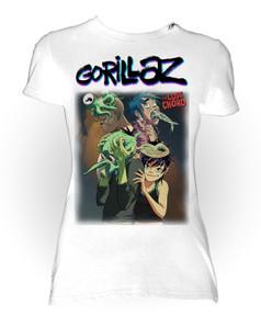 Gorillaz - Lost Chord Girls T-Shirt