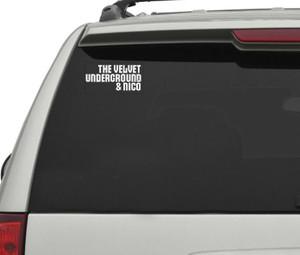"The Velvet Underground And Nico  5x3"" Vinyl Cut Sticker"