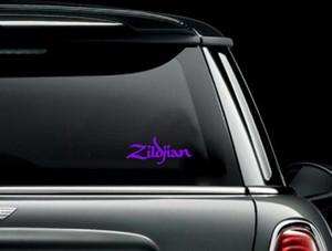 "Zildjian - Logo 6x2"" Vinyl Cut Sticker"