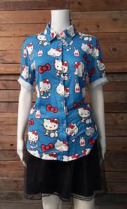 Hello Kitty - Women's Button-Up Shirt