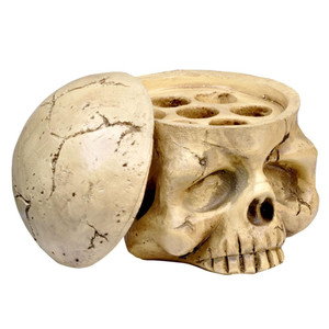 Resin Skull Ink Cap Holder
