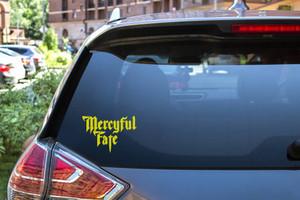 "Mercyful Fate - Logo 6x4"" Vinyl Cut Sticker"