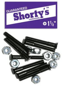 "Shorty's Hardware Longboard Set Phillips 1 1/2"""
