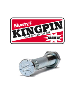 Shorty's Kingpin With Nut.