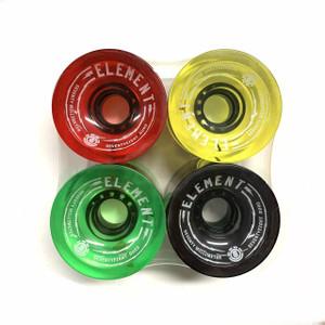 Element Boardwalk Spinner Rasta 70mm 78a (set of 4)