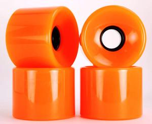 Blank Cruiser Orange 70mm 83a (set of 4)