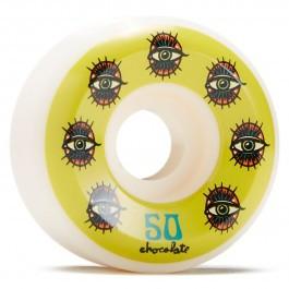 Chocolate Hecox Essential Skateboard Wheels 50mm (set of 4)