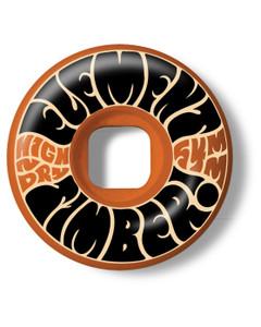 Element Timber High Dry Skateboard Wheels 54mm 99A (set 0f 4)