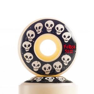 Force 10 Skulls Skateboard Wheels 52mm 101A (set of 4)