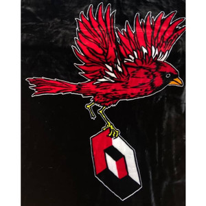 """Consolidated Cardinal Blanket 60x80"""""""