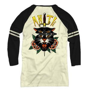 Acid Panther Raglan T-Shirt