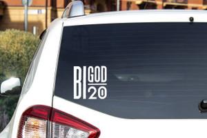 "Bigod - Logo 5x5""Vinyl Cut Sticker"