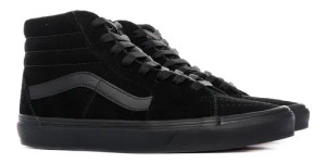 Old Skool Black Suede Sk8 Hi Tops