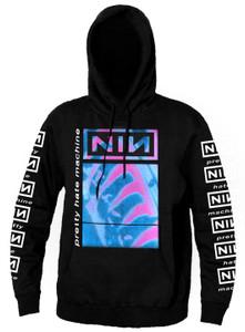 Nine Inch Nails NIN - Pretty Hate Machine Hooded Sweatshirt