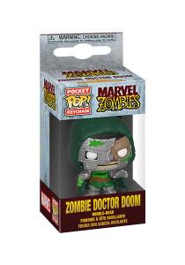 Marvel Zombies - Zombie Dr. Doom Pocket Pop Keychain Figure
