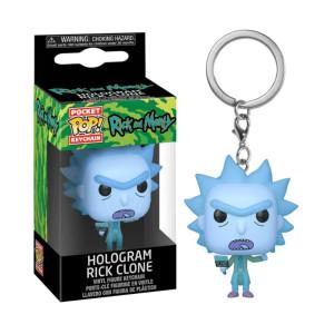 Rick N Morty - Hologram Rick Pop Keychain Figure