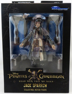 Pirates Of The Caribbean - Deluxe Jack Sparrow Figure
