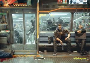 Cyberpunk 2077 - Puzzle 1000pzs.