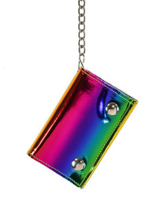 Rainbow Chained Wallet