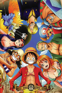 """One Piece - Circle 24x36"""" Poster"""