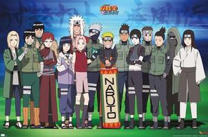 """Naruto - Makimono 36x24"""" Poster"""