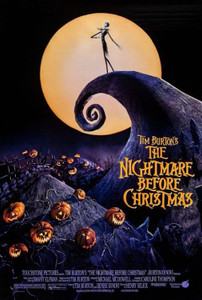 """Nightmare Before Christmas - One Sheet 24x36"""" Poster"""