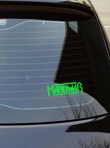 "Manowar - Logo 6x2"" Vinyl Cut Sticker"