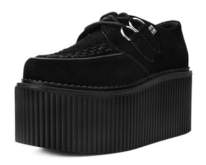 Black Suede Classic Stratocreepers