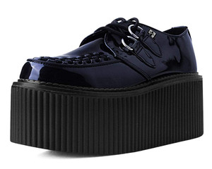 Black Patent Classic Stratocreepers