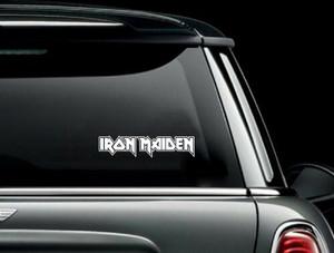 """Iron Maiden - Logo 7x2"""" Vinyl Cut Sticker"""