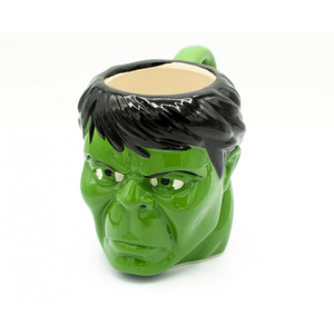 Marvel's Incredible Hulk Face Molded Mug