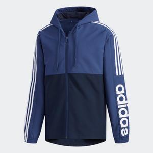 Adidas Essentials Colorblock Windbreaker Blue
