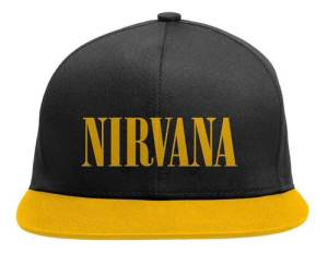 Nirvana - Yellow Baseball Cap