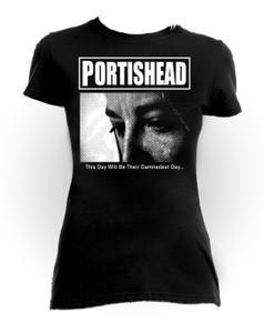 Portishead -This Day Girls T-Shirt