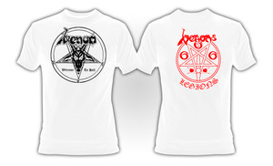 Venom - Welcome to Hell WHITE T-Shirt **LAST IN STOCK - HURRY!!**