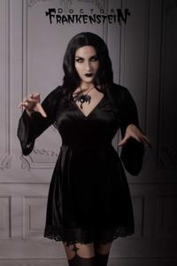 Black Morticia Dress