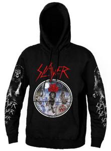 Slayer - Live Undead Long Sleeve Hooded Sweatshirt